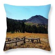 Hiram Peak Throw Pillow
