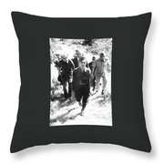 Hiro Onoda Surrendering Lubang  Philippines March 1974 Throw Pillow