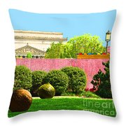 Hirshhorn Colour Throw Pillow