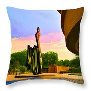 Hirshhorn Sky Throw Pillow