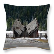His And Hers Barn 1 Throw Pillow