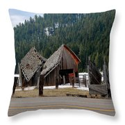 His And Hers Barn 3 Throw Pillow
