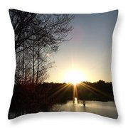 His Awesome Wonders Throw Pillow