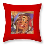 His Fiance Turns Into Bridezilla After Spending One Of The Worst Days Of His Life In Bridal Registry Throw Pillow