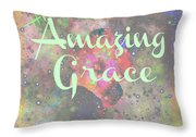 His Grace Throw Pillow