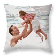 His Joy Throw Pillow