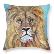 His Majesty Throw Pillow