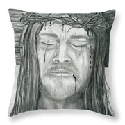 His Selfless Sacrifice  Throw Pillow