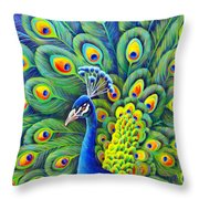 His Splendor Throw Pillow