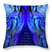 Beneath His Wings 2 Throw Pillow