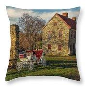 Historic Bethlehem Pennsylvania Throw Pillow