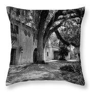 Historic Bok Gardens Home Throw Pillow