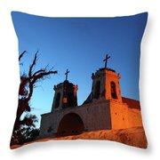 Historic Chiu Chiu Church Chile Throw Pillow