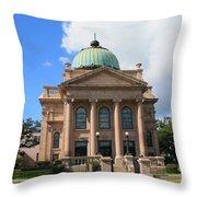 Historic Church Throw Pillow