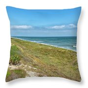 Historic Coast Throw Pillow
