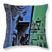 Historic District  Throw Pillow