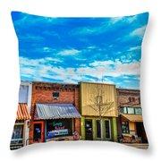 Historic Downtown Emmett 01 Throw Pillow