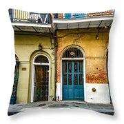 Historic Entrances Throw Pillow