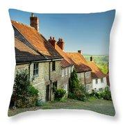 Historic Gold Hill Throw Pillow