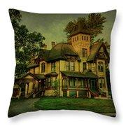 Historic Home Throw Pillow
