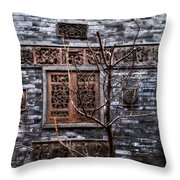 Historic Hutong Throw Pillow