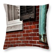 Historic Nantucket Throw Pillow