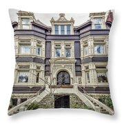 Historic Old Louisville - William Wathen House 1895 Throw Pillow