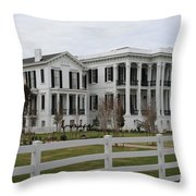 Historic Plantation Throw Pillow
