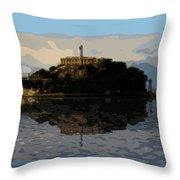 Historic Prison Throw Pillow