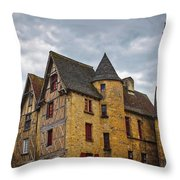 Historic Sarlat - La - Caneda France Throw Pillow