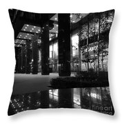 Historic Seagram Building - New York City Throw Pillow