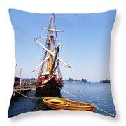 Historic St Marys City Throw Pillow