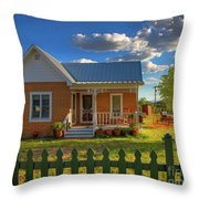 Historic Tombstone In Arizona Throw Pillow