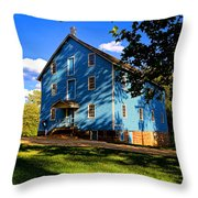Historic Walnford Gristmill Throw Pillow