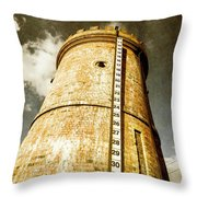 Historic Water Storage Structure Throw Pillow