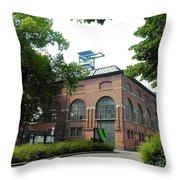 Historical Building Throw Pillow