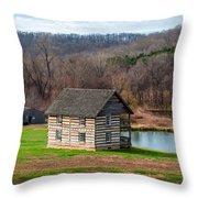Historical House Throw Pillow