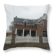 Historical House In Taylor Throw Pillow