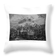 Historical Monument Of Our Country Throw Pillow