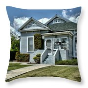 Historical Old Home Throw Pillow