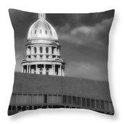 Historical Society Colorado Throw Pillow