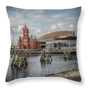 History, Art And Democracy Throw Pillow