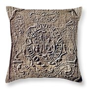 History Of Usa: Stamp Act Throw Pillow