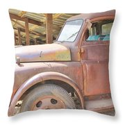 History On Wheels Throw Pillow