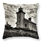 History's View Throw Pillow