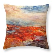 Histria Throw Pillow