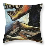 Hit Die Exceeded Throw Pillow