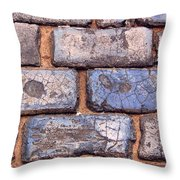Hit The Bricks Throw Pillow