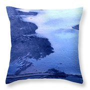 Hit The Pavement Throw Pillow