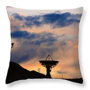 Hitech Sunset Throw Pillow